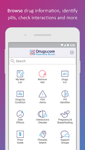 Drugs.com Medication Guide Latest Version Download For Android and iPhone 1