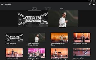 Screenshot of Elevation App