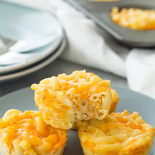 Baked Mac and Cheese Cups (Gluten-free).