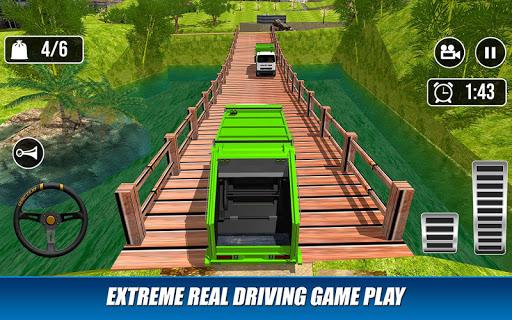 Offroad Garbage Truck: Dump Truck Driving Games apktram screenshots 10