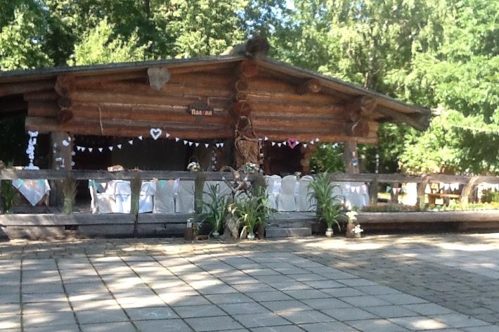Фото №2 зала Костровая площадка с верандой