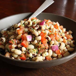 Spicy Black-Eyed Peas Salad.