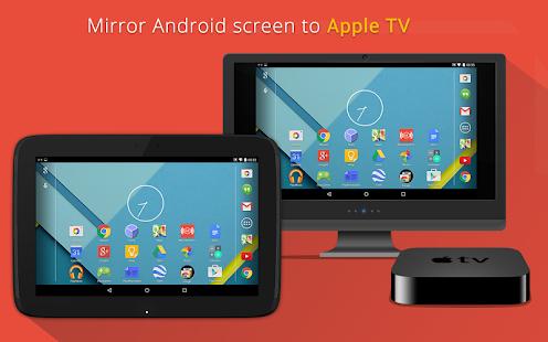Mirroring360 Sender to AppleTV - náhled