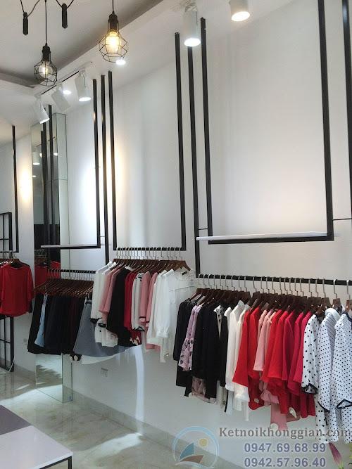 thi công cửa hàng thời trang chất lượng cao