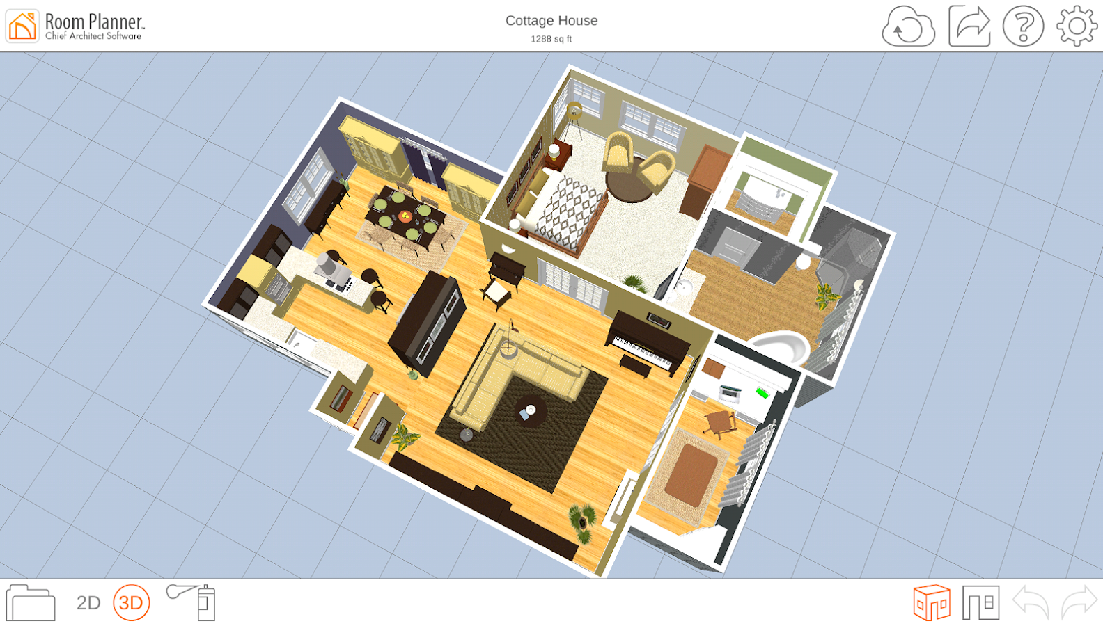 Room planner le home design android apps on google play for Room space planner