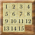 15 Puzzle Wooden icon
