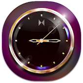 Royal Gold Clock Widget