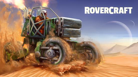 RoverCraft - построй луноход мод