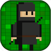 Circle Ninja - Pixel Art Adventure