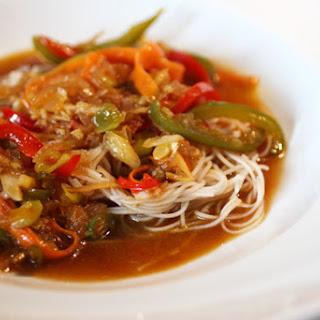 Crispy Thai Tamarind Fish.