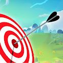 Archery Shooting Battle 3D Match Arrow ground shot icon