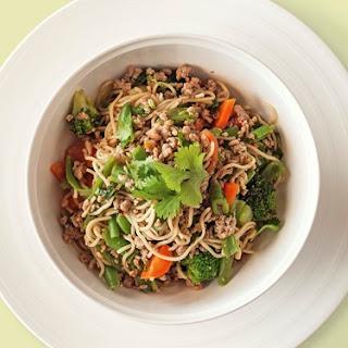 Pork, Chilli and Lemongrass Noodles Recipe