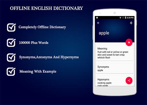 Offline English Dictionary 1.0.4 screenshots 1