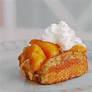 Grandma's Peach French Toast.
