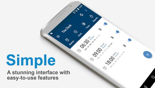 The Clock: Alarm Clock, Timer & Stopwatch Free 4.4.8 screenshots 1