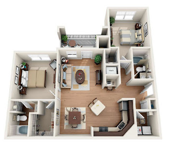 Go to The Buckley Floorplan page.