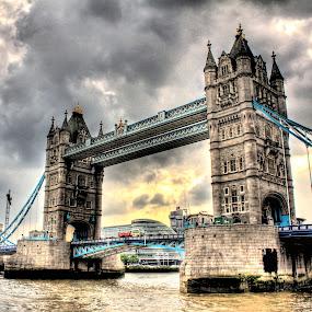 Tower Bridge by Luke Aylen - Buildings & Architecture Bridges & Suspended Structures ( hdr, london, tower bridge, bridge )