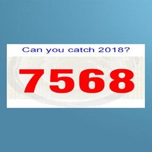 Random number catcher - náhled