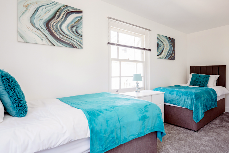 Bedroom at Elthorne Luxury Apartments - Uxbridge