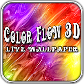Color Flow 3D Live Wallpaper