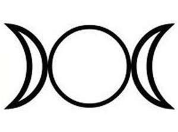 The triple Goddess is an easy symbol to make and is concitered very powerful