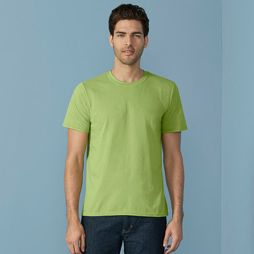 Gildan Soft Ring Spun T-Shirt Printed (Mens)