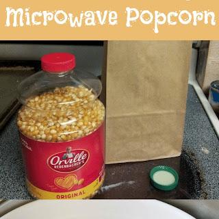 Easy Brown Bag Popcorn Recipe