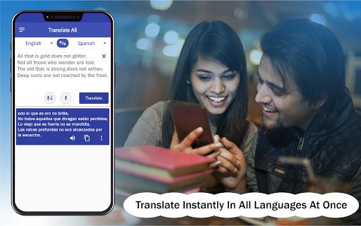 Language Translator Translate all & Learn language screenshot 1