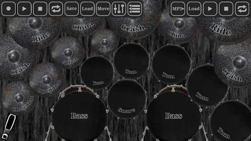 Drum kit metal Screenshot