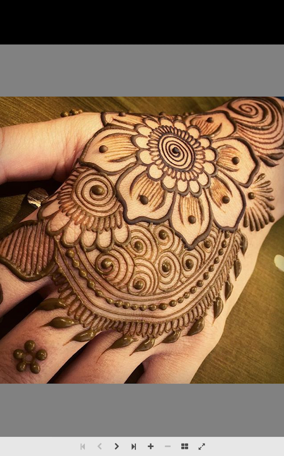 Mehndi Step By Step Designs : Henna tutorial step by android apps on google play