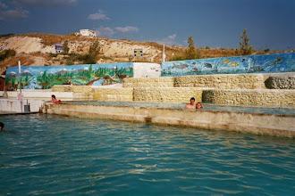 Photo: bazén v kempu u Pamukkale