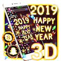 Happy New Year Gravity Theme icon