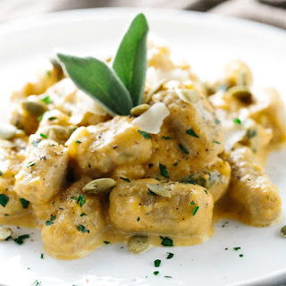 Whole Wheat Gnocchi with Pumpkin Sage Sauce