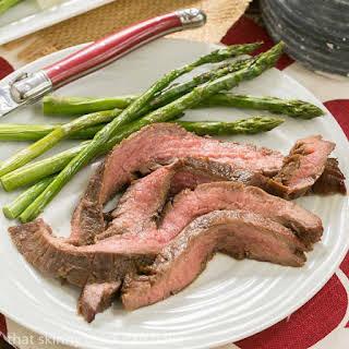 Easy Grilled Flank Steak.