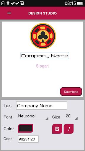 Free Logo Maker - DesignMantic 3.0 screenshots 7