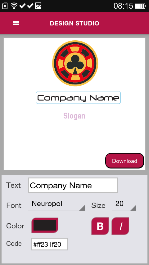 Free Logo Maker Designmantic Android Apps On Google Play