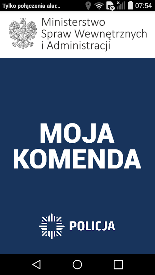 Moja Komenda- screenshot