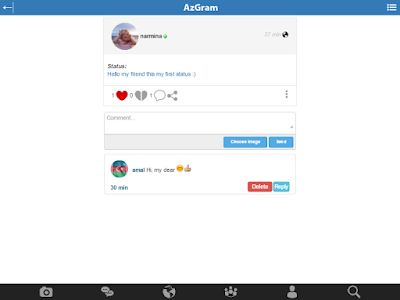 AzGram.Az - The Social Network screenshot 11