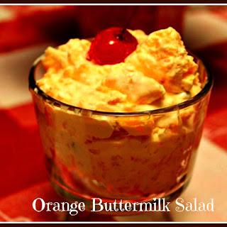 Orange Buttermilk Salad!.