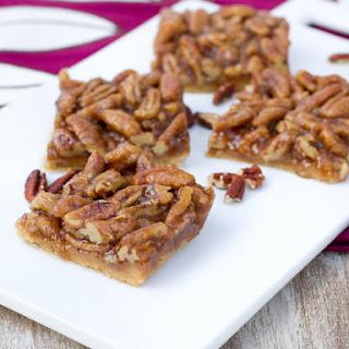 Whole Wheat Pecan Pie Bars