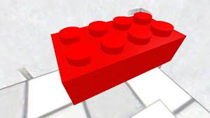 LEGO 4X8 red bric
