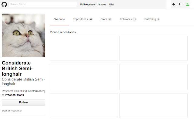 GitHub All Cats
