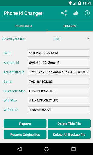 Device Id Changer Pro [Xposed] poster