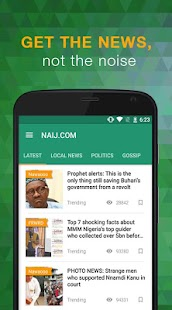Nigeria News NAIJ.com- screenshot thumbnail