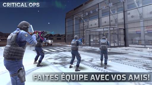 Code Triche Critical Ops apk mod screenshots 1
