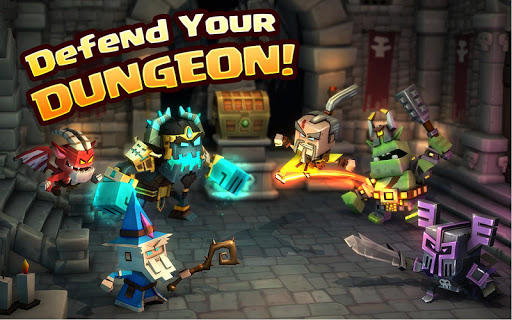 Dungeon Boss – Strategy RPG Screenshot