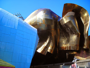 Photo: EMP Museum, Seattle (http://www.empmuseum.org/). Building by Frank Gehry (http://www.empmuseum.org/about-emp/the-emp-building.aspx).