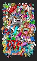 Doodle Art Kertas Dinding - screenshot thumbnail 03