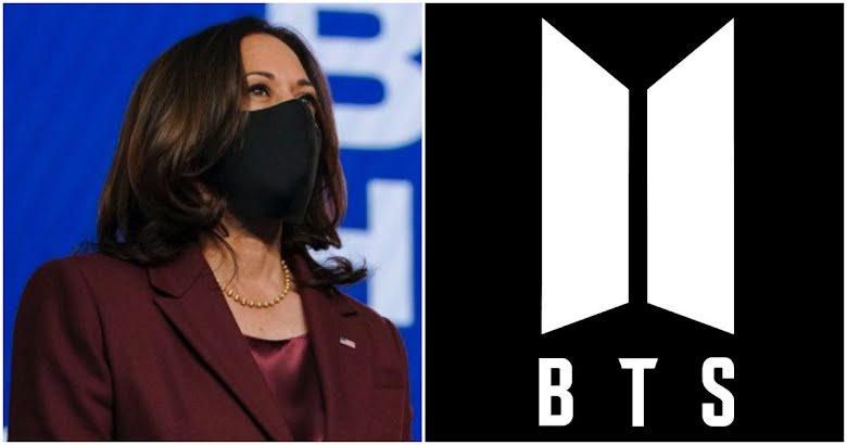 Fanii trupei BTS sunt încântați că Vicepreședintele SUA Kamala Harris este un ARMY!