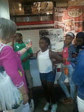 Photo: Our students took a tour of Reading Terminal Market to learn about careers at the Market